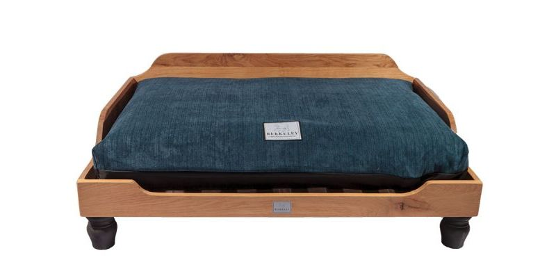 Berkeley Dog Bed Oak Blue